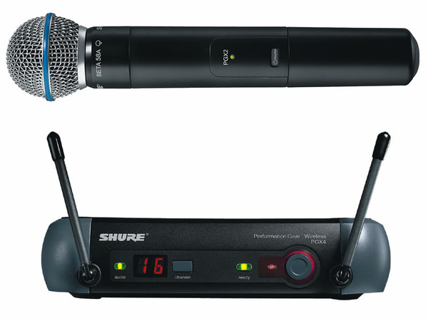 Микрофон Shure Pgx24-BETA58 проф.радиосистема.Кейс.магазин не рынок