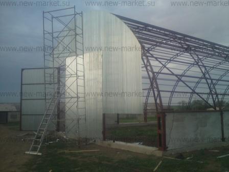 Быстромонтируемые здания из металла в ассортименте построим в срок