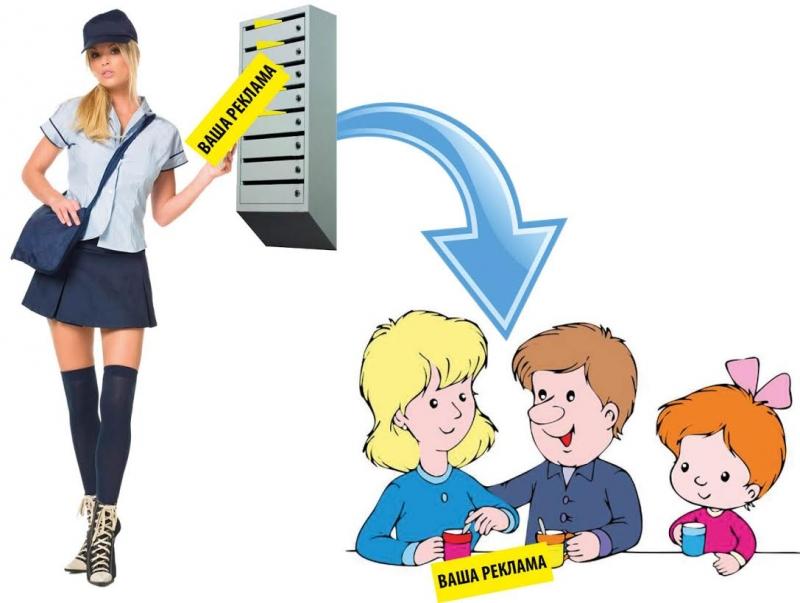 Распространение рекламы по почтовым ящикам Краснодарского края