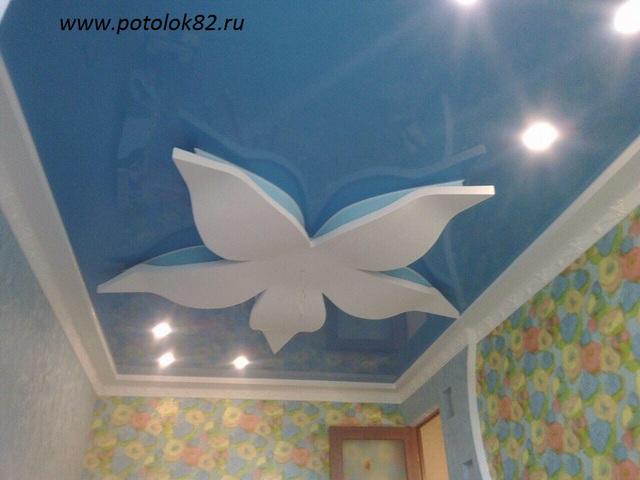 Натяжные потолки в Симферополе, Крыму.