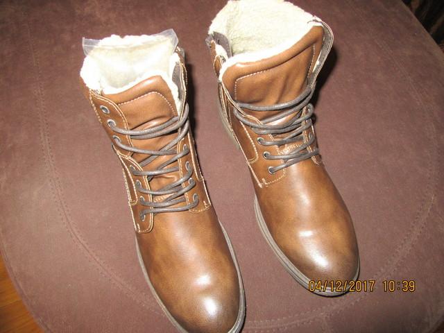 Новые мужские зимние ботинки