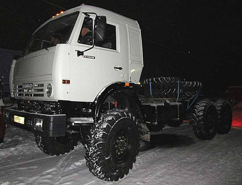 КамАЗ 44108 тягач вездеход с капремонта, двиг ЯМЗ-238, ПТС бу.