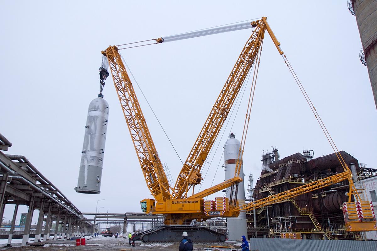 Аренда гусеничного крана 1250 тонн DEMAG CC 6800 гп 1250 тонн Астана