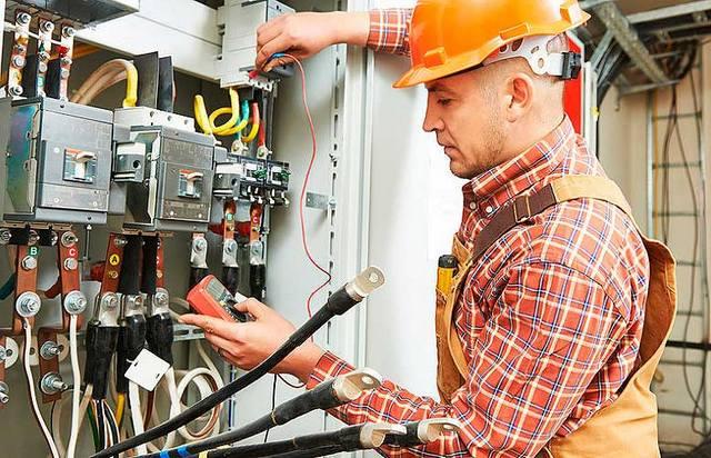 Услуги по производству электромонтажных работ