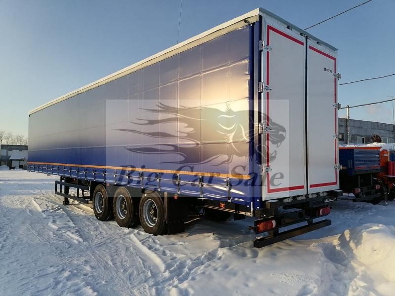 Шторный полуприцеп НЕФАЗ 93341-0600200-08 для магистральных перевозок